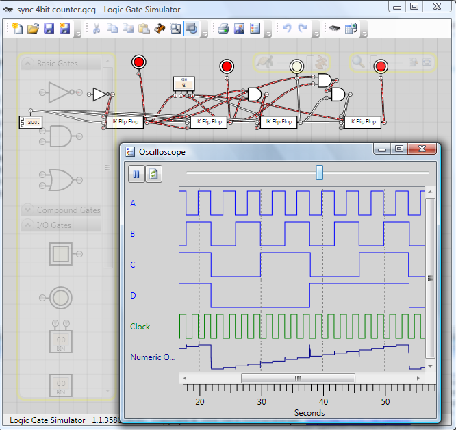 Fine Logic Gates Simulator Online Images - Electrical Circuit ...