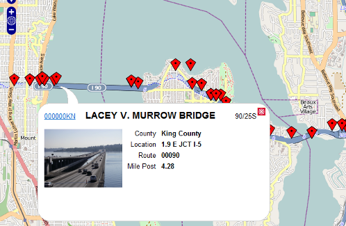 Bridge Map (WSDOT BPO)